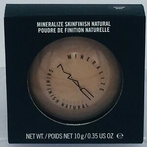 MAC MEDIUM DARK Mineralize Skinfinish Natural 10 g .35 US oz NEW NIB LE RARE