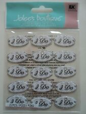 EK SUCCESS JOLEE'S BOUTIQUE I DO REPEATS DIMENSIONAL STICKERS BNIP