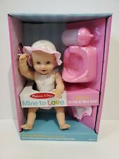 Melissa  Doug Mine to Love Annie 12-Inch Drink and Wet Poseable Baby Doll