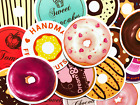 35 Donuts Desserts Junk Food Stickers For Laptop Phone Skateboard Teen Girls BH