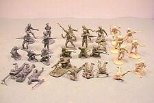 BMC 1/32nd 54MM World War II D-Day Plastic Soldiers Set U.S. British, German NEW