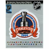 1994 NHL Stanley Cup Finals Game Jersey Patch New York Rangers Vancouver Canucks