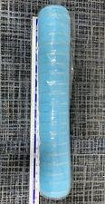 blue deco mesh 52cm
