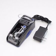 Black/Blue Electric Cigarette Tobacco Automatic Injection Roller Maker