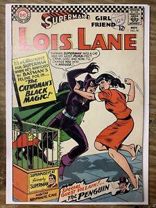 Lois Lane #70/DC Comic Book/1st Silver Age Catwoman/VG+