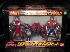 Ultraman Tiga & Ultraman Dyna Movie Vinyl Figure Set! Godzilla Gamera
