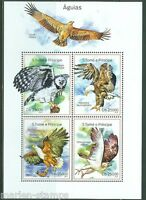 SAO TOME  2014 EAGLES SHEET MINT NH
