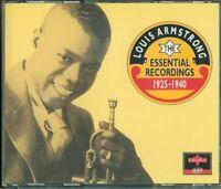 Louis Armstrong - Essential Recordings 1925 1940 Fat Box 4X Cd Eccellenti