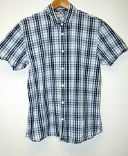 LEVIS SHIRT SIZE M CHECK COTTON SHORT SLEEVE