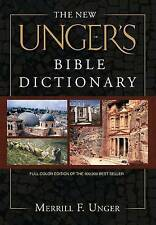 The New Unger's Bible Dictionary by Merrill F Unger (Hardback, 2007)