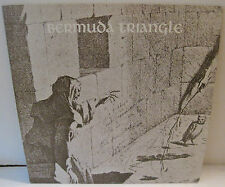 Bermuda Triangle – Self Titled LP Signed On Cover By All 3 Band Members VHTF