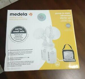 MEDELA sealed ADVANCED STARTER SET new BREAST PUMP IN STYLE kit