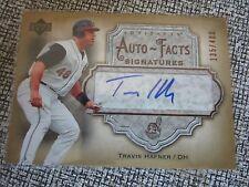 2006 Artifacts Auto-Facts Signatures Travis Hafner Autograph 135/400