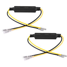2x 21W Motorcycle Bike Turn Signal Indicator LED Load Resistor Decoder Fix Error
