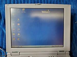 Vintage Toshiba 305CDS Laptop Windows 98