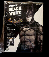 Batman DC Comics Black White Arkham Asylum Mini Statue New From 2011