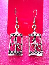 Carousel Horse Dangle Earrings