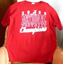 2009 NATIONAL FOOTBALL CHAMPIONS T-SHIRT>DELTA PRO WEIGHT>XL>NEW>FREE U.S. SHIPP