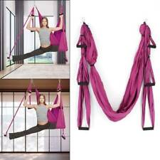 Hammock Trapeze Yoga Kit Anti-gravity Inversion Fitness Swing Sling Aerial Silks