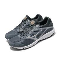 Mizuno Spark 4 Grey Orange White Men Running Training Shoes Sneakers K1GA1903-40