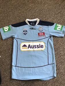 Men's Australia NSW Blues Rugby League top GENUINE Size S