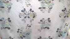 drap DISNEY MICKEY MINNIE C.T.I FRANCE (flat sheet)vintage