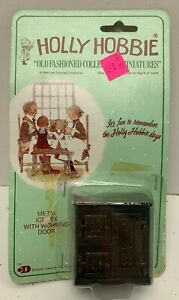 Holly Hobbie Icebox No 21 Old Fashioned Miniatures New Old Stock