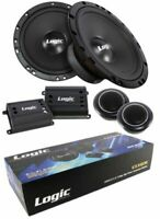 "2x 6.5"" 2 Way High Power Component Speaker System 300 Watts 4 Ohm Pro Car Audio"