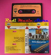 MC VICTOR BACH GROUP Top usa n.1 1982 italy CAR MUSIC CARK 713 no cd lp dvd vhs
