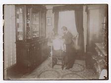 PHOTO Vers 1900 Curiosité Étrange Médical Médecine Docteur Consultation Malade
