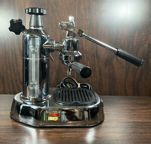 La Pavoni EUROPICCOLA Lever CHROME Espresso Coffee Machine ITALY 8 cup capacity