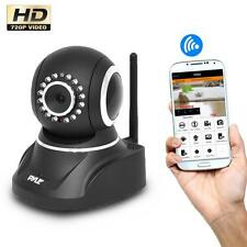 Pyle Wireless Outdoor IP Camera, P2P Network, Image Capture, Video,Built-In Mic