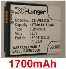 Batería 1700mAh tipo BL-44JS BL-A5JN Para LG Sueño lúcido 4G