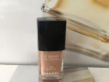 Chanel Uñas Beige d 'or 223 oro Sheer Nude Esmalte De Uñas decorada con deslumbrantes Raro