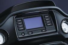 Kuryakyn - 6967 - Tri-Line Road Glide Boom! Box 4.3 Stereo Trim, Black