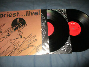 Judas Priest Live Live Doppel LP