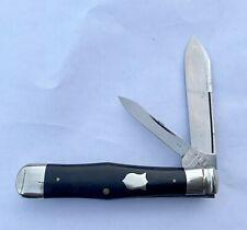OUTSTANDING ULSTER KNIFE CO NY EBONY JACK KNIFE