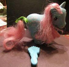 Vintage My Little Pony Bowtie 1983 Hasbro with Brush
