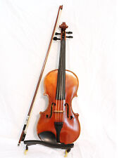 """Lisle Violin Shop Model 96 15"""" Viola with Bow in excellent condition..."""