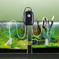 Aquarium Oxygen  Mini Air Pump, 80 Inches with 2 Air Stones and 2 Silicone Tubes