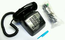 Rare - House Table Real Heavy Mini Phone For A Little Person Or A Child - Black