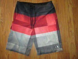 Mens O'NEILL swim trunks shorts sz 30  bathing suit board