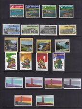 stamps  New  Zealand  12       5 unused sets  mlh