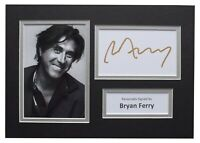 Bryan Ferry Signed Autograph A4 photo display Music Memorabilia AFTAL COA