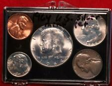 Uncirculated 1964 United States Silver Mint Set