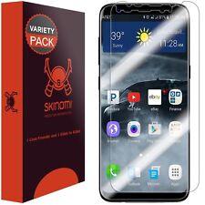 Skinomi (2-Pack) Screen Protector Case Friendly & Edge To Edge Samsung Galaxy S8
