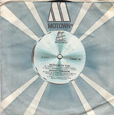 SMOKEY ROBINSON  Being With You / What's In Your Life For Me 45 - Motown