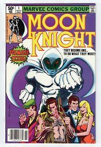 MOON KNIGHT #1 VF/NM 9.0 1st appearance Bushman Disney TV show HOT