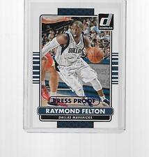2014-2015 PANINI DONRUSS BASKETBALL RAYMOND FELTON PRESS PROOF #68