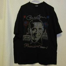 100% Cotton Bedazzled President Barack Obama Tshirt Tee sz 3X